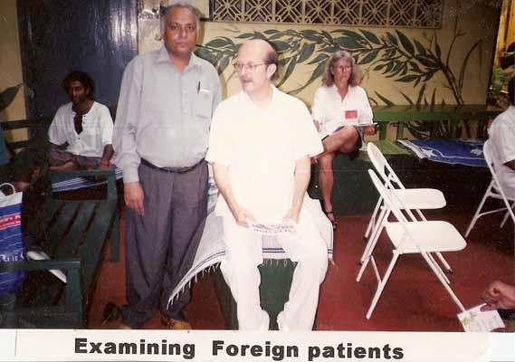 Examining Foreign Patients