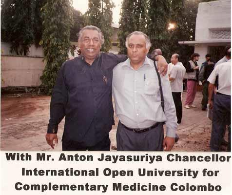 with Mr. Anton Jayasuriya