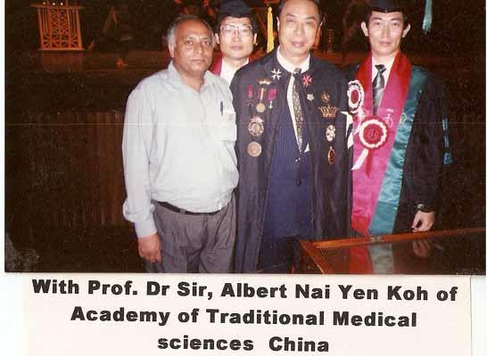 With Prof. Dr Sir